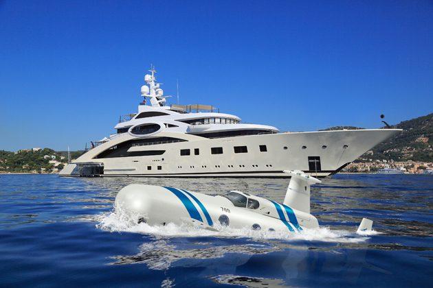 Neyk luxury submarine