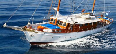 Sailing, Luxury Motor Sailer for Charter in Greece and Mediterranean