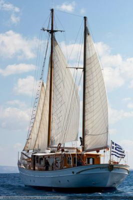 Anchor 2, Luxury Motor Sailer for Charter in Greece and Mediterranean