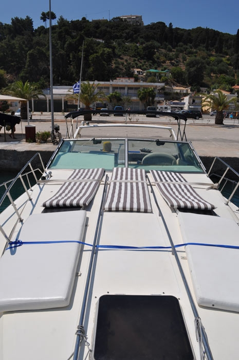 This 39 feet Sea Ray open Motor Yacht is based in Patras or South Ionio, Greece and is offered for Daily or Multiple Day cruises in the amazing Ionian ...