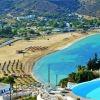 MYLOPOTAS & KOLITSANI resorts, beaches & anchorages in IOS