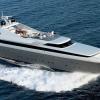 Mega Yacht Cantieri di Pisa Akhir, 125 Feet