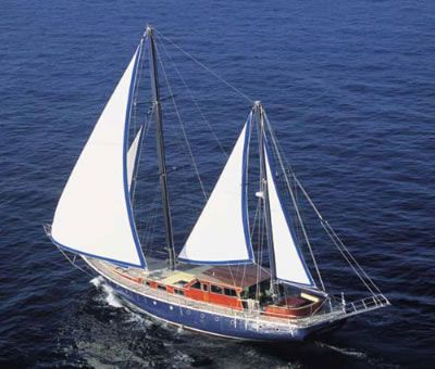 Luxury Motor Sailer (Ketch) 83 Feet