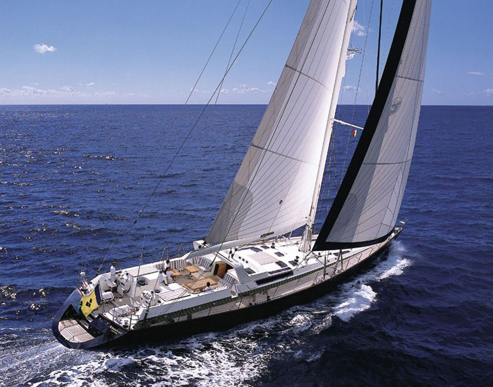 Luxury Crewed Sailing Yacht, Dynamique 110