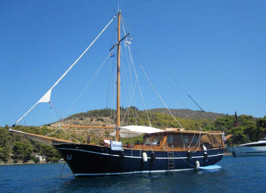 Traditional Motor Sailer 50 Feet
