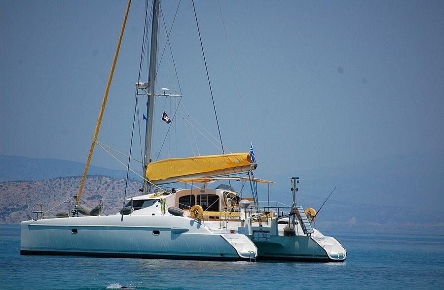 S/Y Lavezzi 40, Catamaran