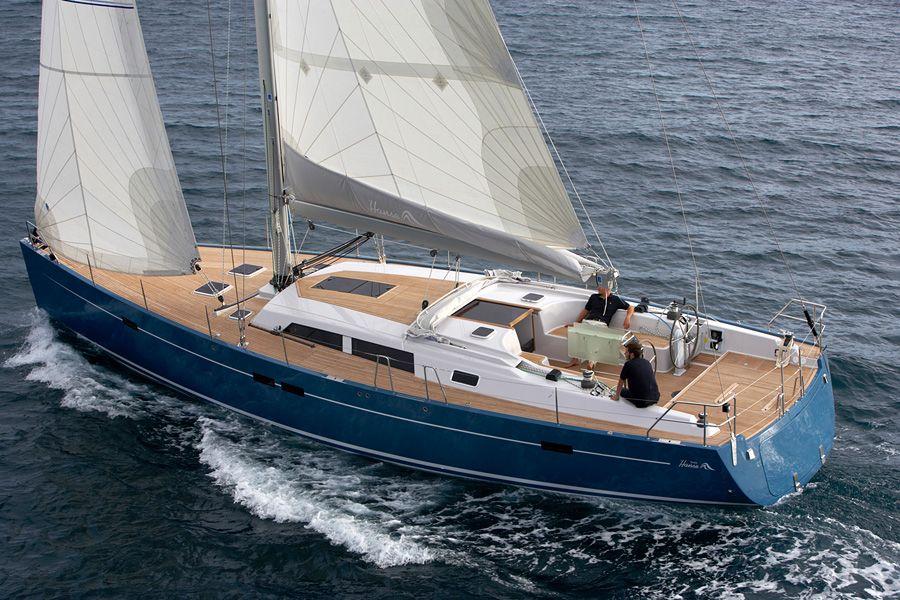 Luxury Crewed Sailing Yacht, Hanse 54