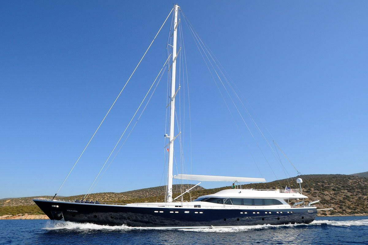 Luxury Sailing Yacht 121 Feet