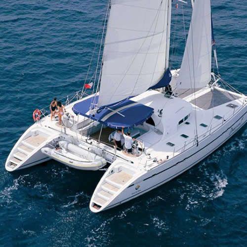 S/Y Lagoon 570, Luxury Crewed Catamaran