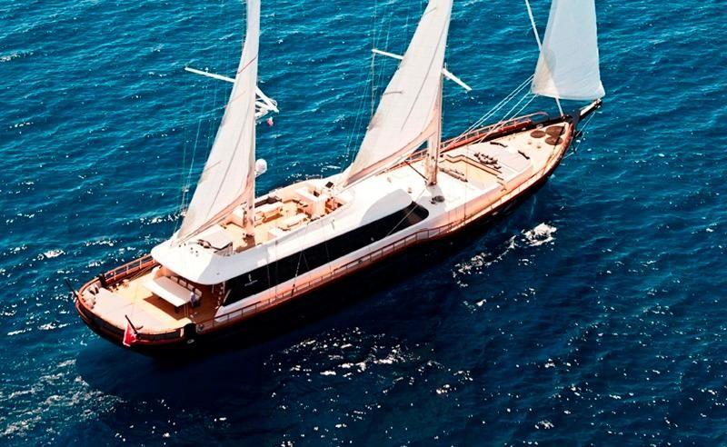 Luxury Sailing Yacht Cobra 146 ft