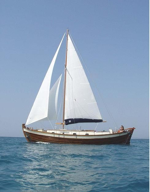 Traditional Motor Sailer (Trehantiri) 51 Feet