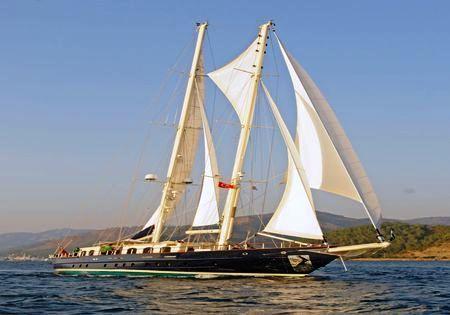Luxury Crewed Motor Sailing Yacht, Adic 118