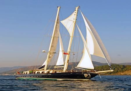 Luxury Motor Sailer (Schooner) Adic, 118 Feet