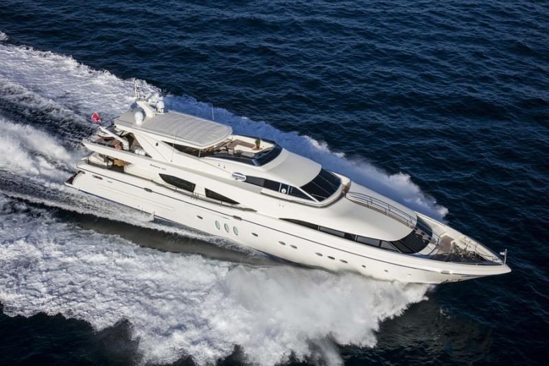 Mega Yacht  Posillipo 120 Feet