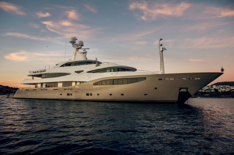 Mega Yacht CRN Ancona 198 Feet