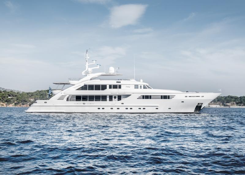 Mega Yacht ISA 155 Feet