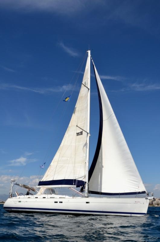 Luxury Crewed Sailing Yacht, Beneteau Oceanis 523