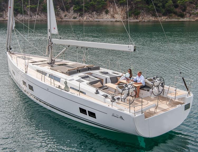 Luxury Crewed Sailing Yacht, Hanse 588