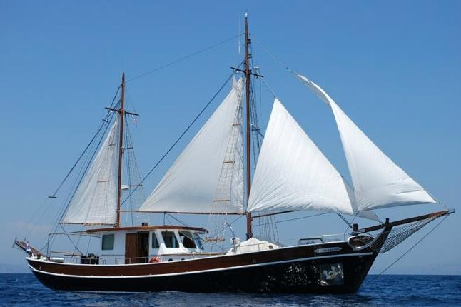 Traditional Motor Sailer 72 Feet