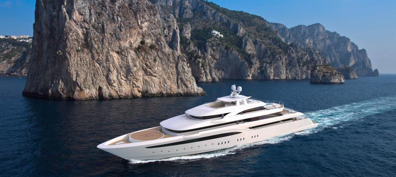 Mega Yacht Golden Yachts 278 Feet