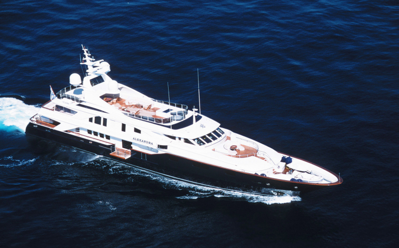 Mega Yacht Benetti 164 Feet