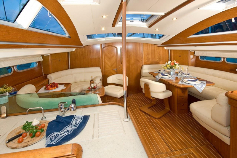 Luxury Crewed Sailing Yacht Jeanneau Sun Odyssey 54 Ds All4yachting