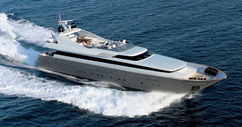 Mega Yacht Cantieri di Pisa Akhir 125 Feet
