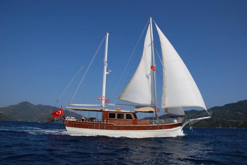 Luxury Motor Sailer (Ketch) 79 Feet