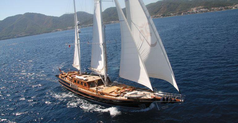 Luxury Motor Sailer (Ketch) 109 Feet