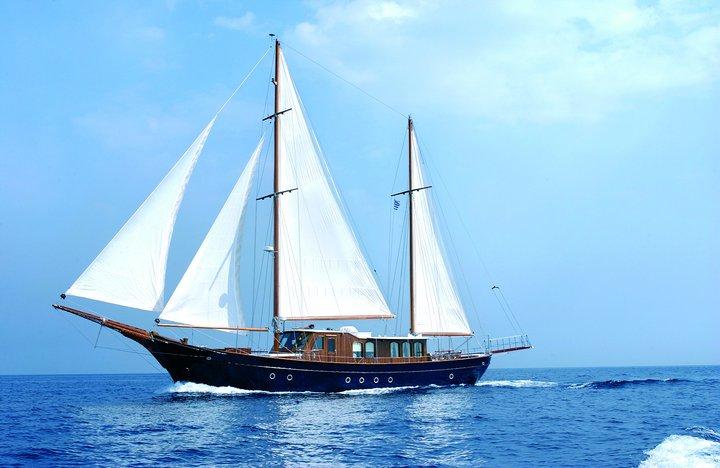 Luxury Traditional Motor Sailer 92 Feet