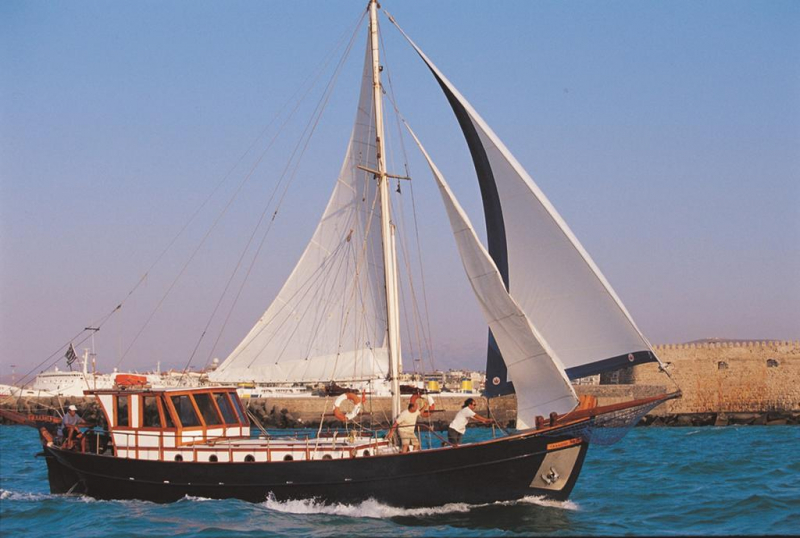 Traditional Motor Sailer 51 Feet