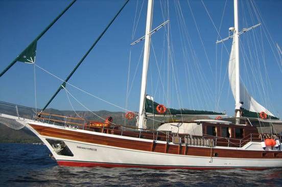 Luxury Traditional Motor Sailer (Ketch) 87 Feet