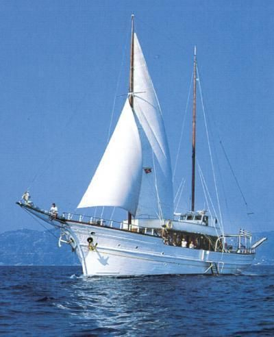 Traditional Motor Sailer 100 Feet