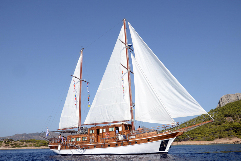 Traditional Motor Sailer (Ketch) 72 Feet