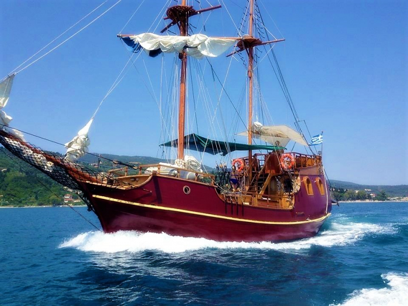 Traditional Motor Sailer 47 Feet