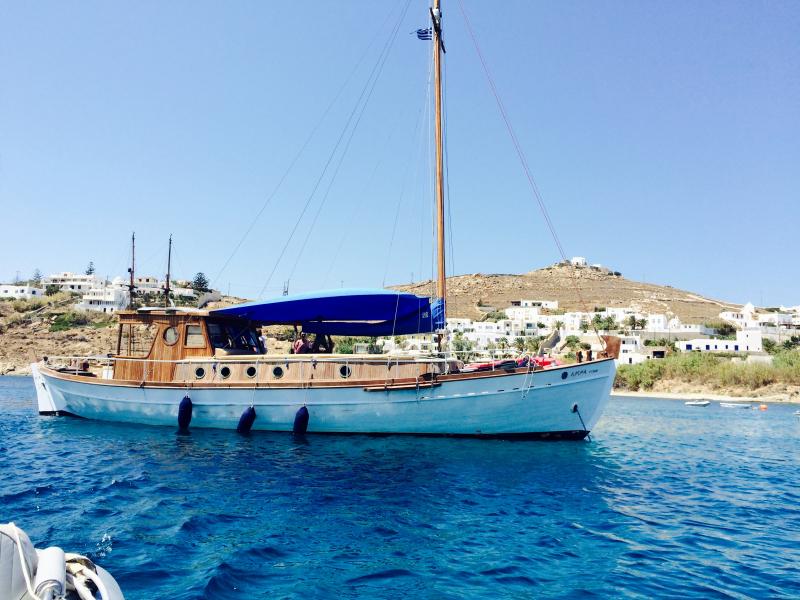 Traditional Motor Sailer 53 Feet