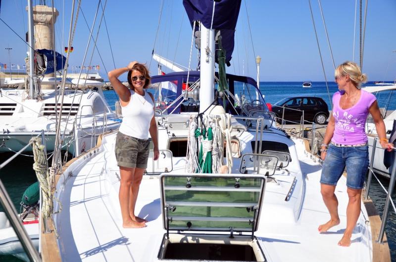 Luxury Crewed Sailing Yacht, Irwin Ketch 65 - all4yachting