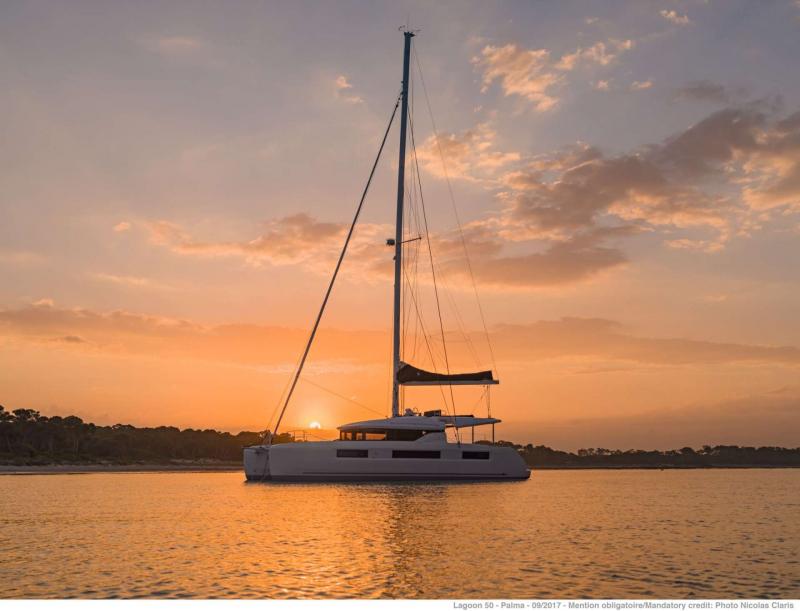 S/Y Lagoon 490 Fly, Luxury Crewed Catamaran