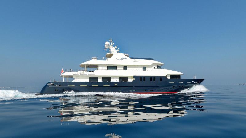 Mega Yacht  Mengi-Yay Shipyard 132 Feet