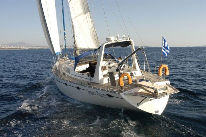Luxury Crewed Sailing Yacht, Atlantic 55