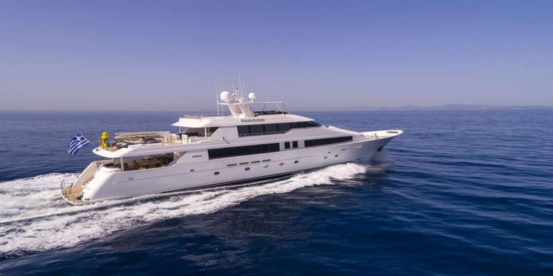 Mega Yacht Westport 130 Feet