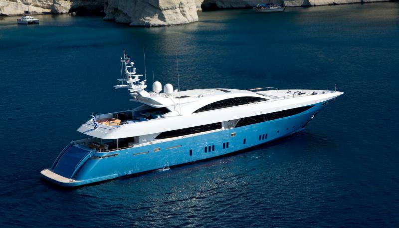 Mega Yacht Mondomarine 137 Feet