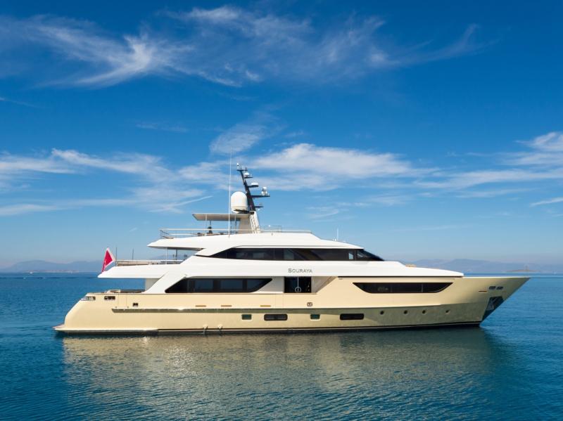Mega Yacht Sanlorenzo 125 Feet