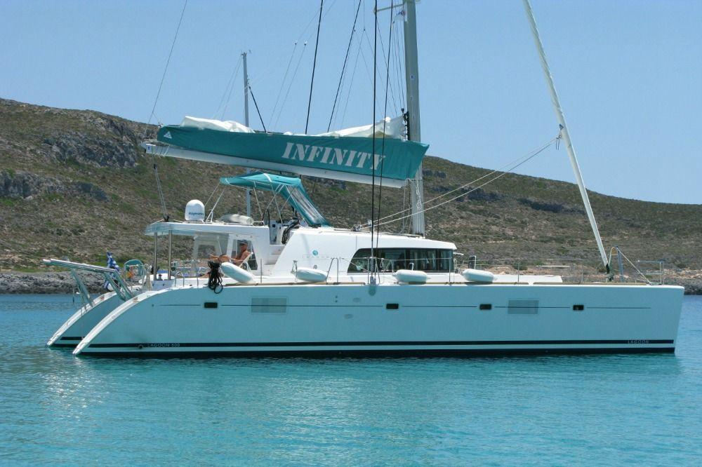 S/Y Lagoon 500 Fly, Crewed Catamaran