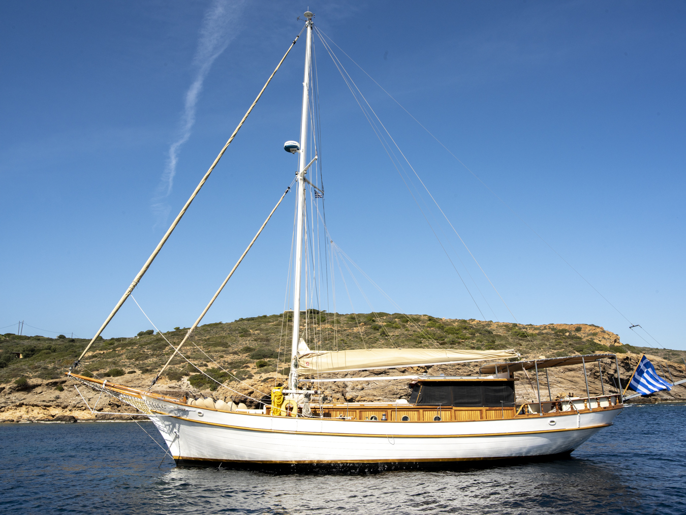 Luxury Traditional Motor Sailer 60 Feet