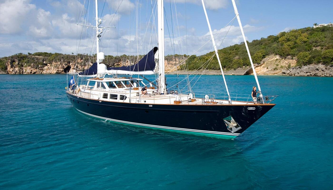 Mega Sailing Yacht Palmer Johnson 123 Feet