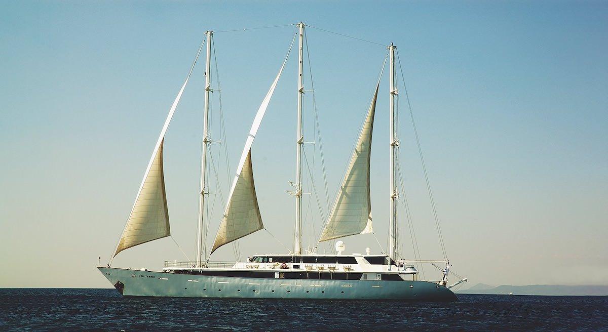 Mega Sailing Yacht - Cruise Ship 174 Feet