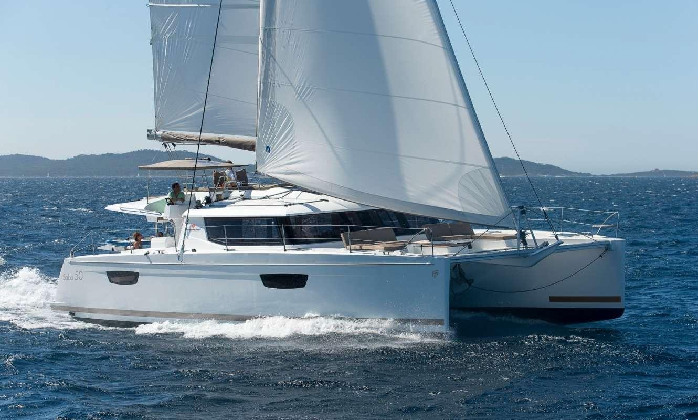 S/Y Fountaine Pajot 50 Fly, Luxury Crewed Catamaran