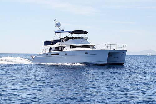 M/Y Cumberland 46, Power Catamaran Fly