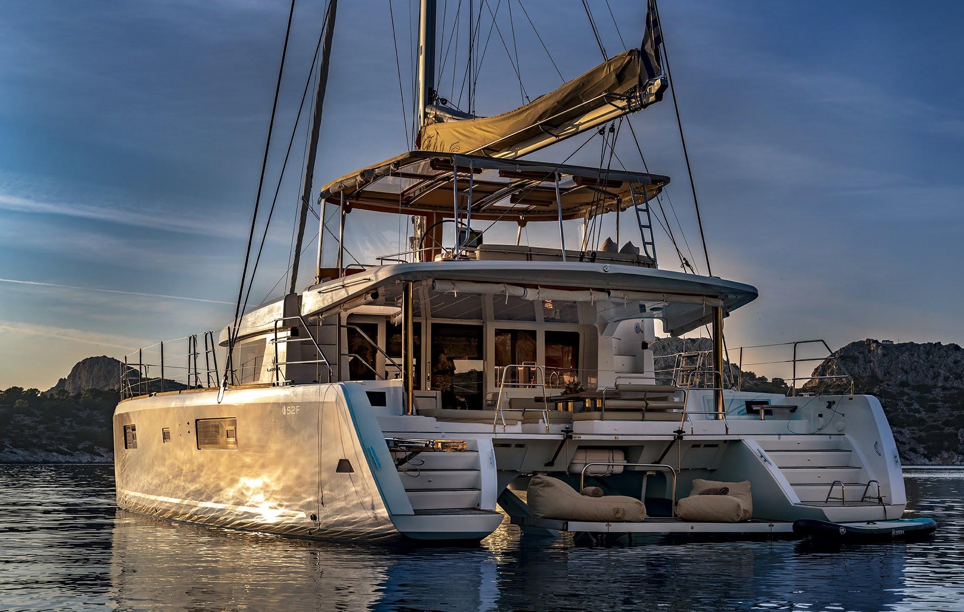 S/Y Lagoon 52 Fly, Luxury Crewed Catamaran